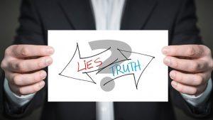 Lüge oder Wahrheit